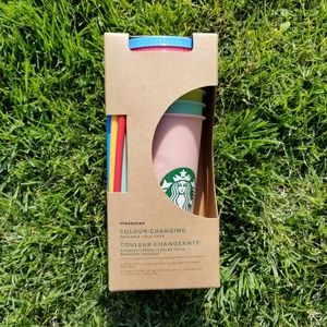 Starbucks Color Changing Cups New in Box